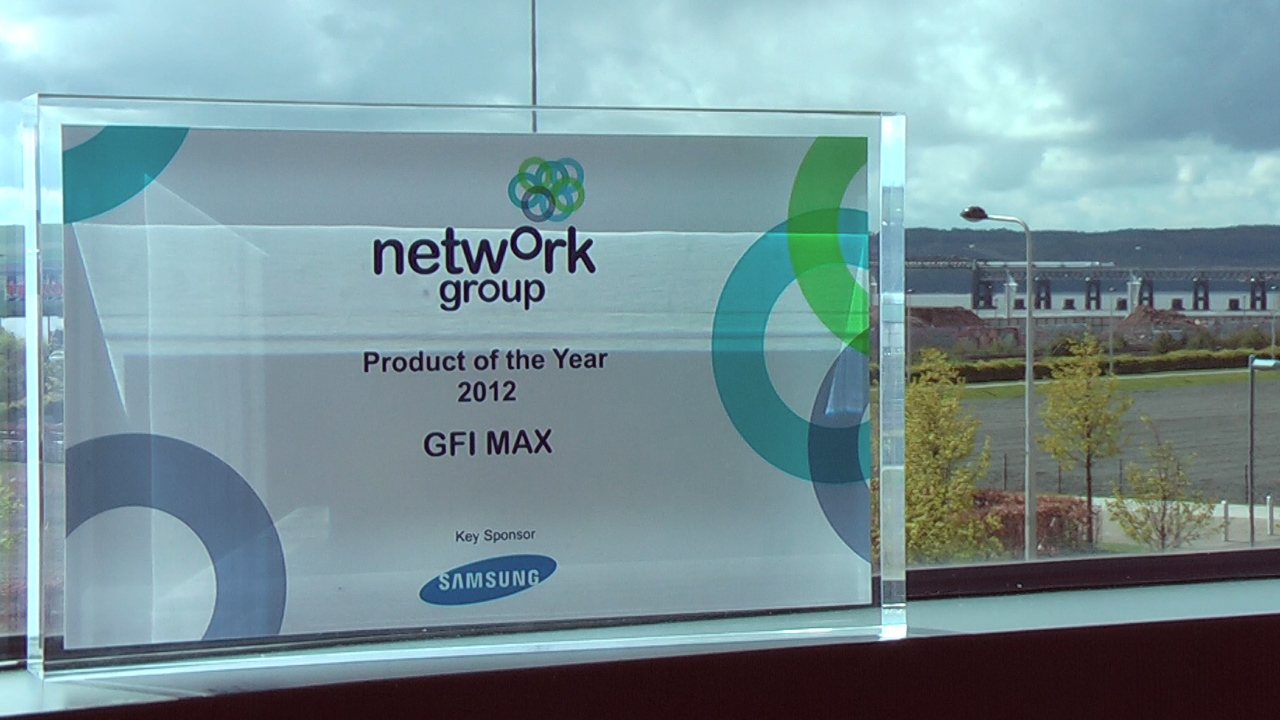 Network Group 'Product of the Year' GFI award