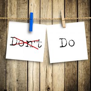 do don't