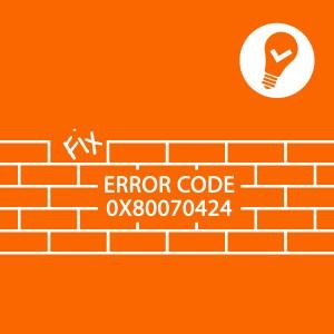 Error0x80070424
