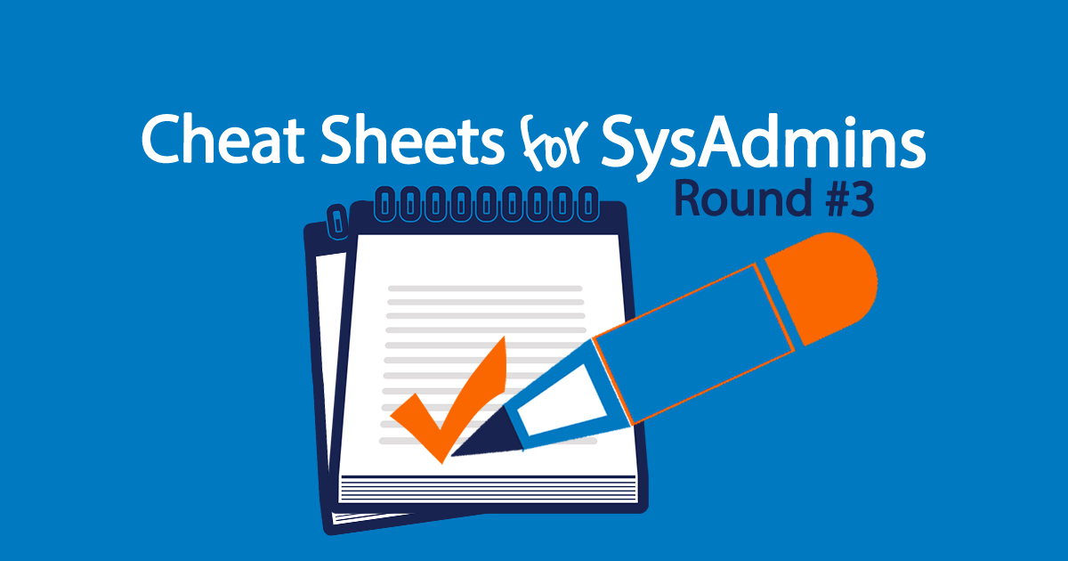 Sysadmin cheat sheets for SCCM and System Manager
