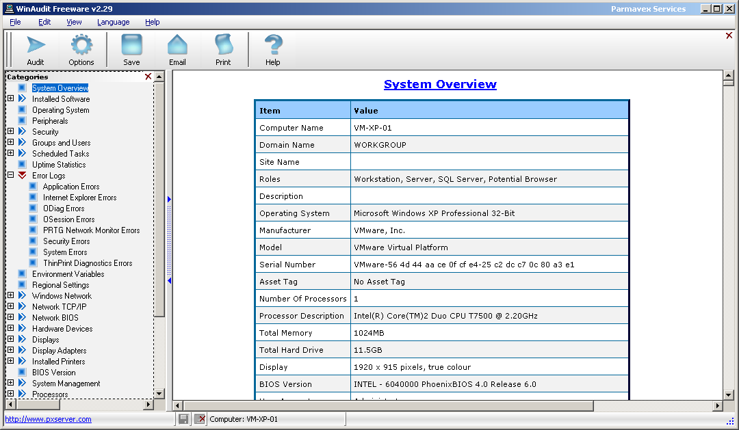internal audit software free download