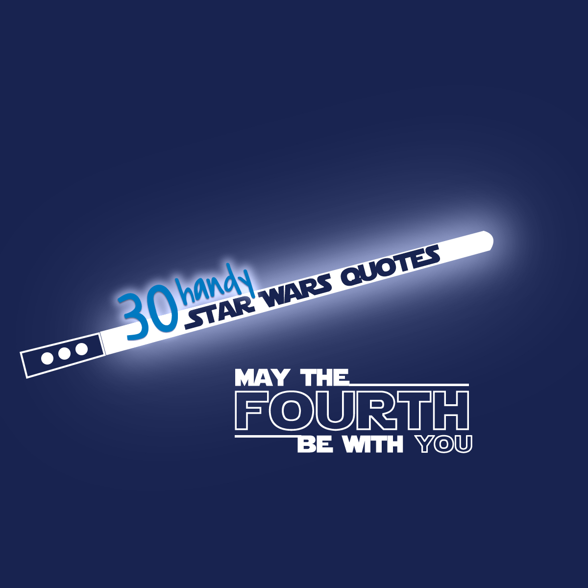 May The 4th Be With You 30 Star Wars Quotes To Fit Any It Situation